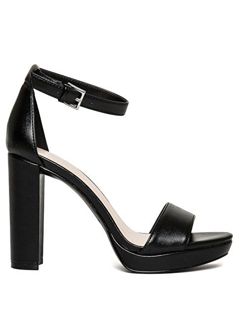 Nine West Yüksek Topuklu Sandalet Siyah